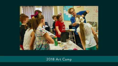 2018 Art & Drama Camps